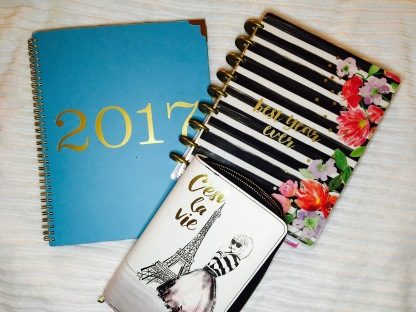 My planners for 2017