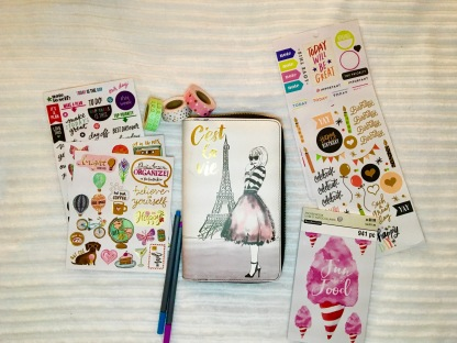 My Recollections planner