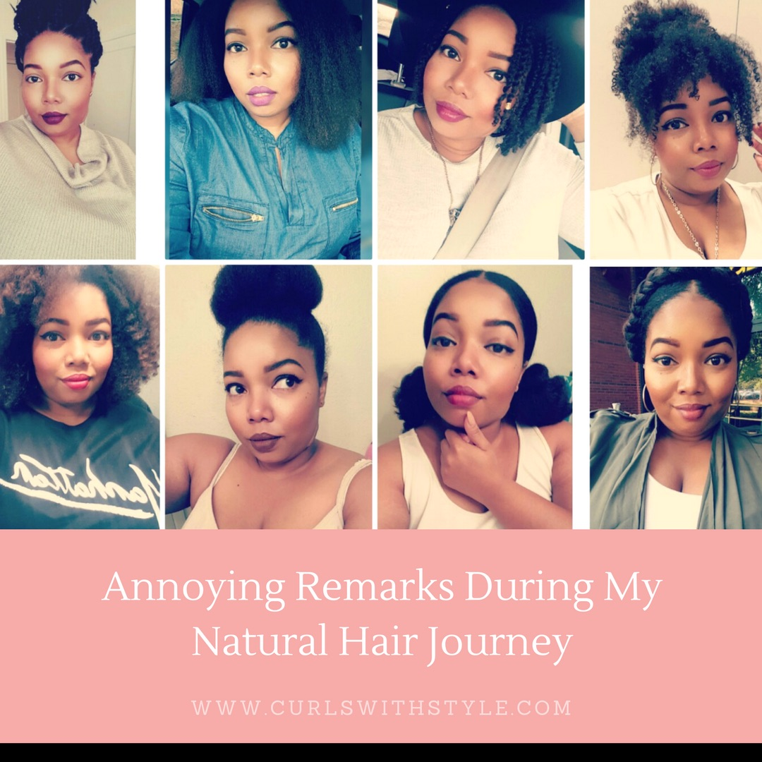 Annoying Remarks During My Natural Hair Journey