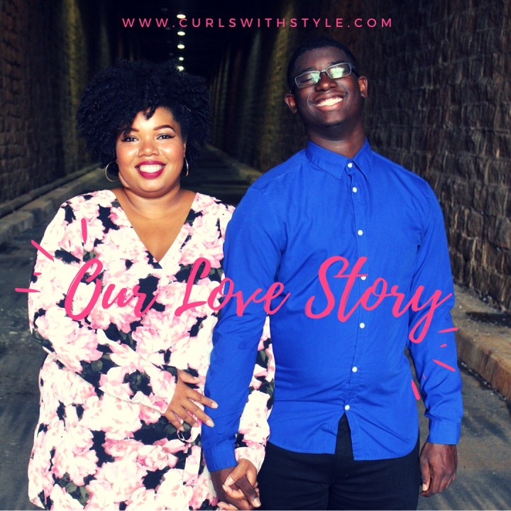 Down the Aisle #TheWhiteWay: Our LoveStory